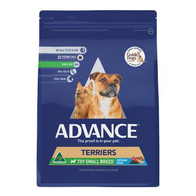 Advance Terriers Toy/Small Breed Ocean Fish Adult Dry Dog Food 13kg
