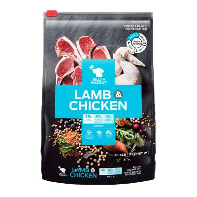 Billy + Margot Lamb And Chicken Adult Dry Dog Food 12kg