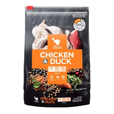 Billy + Margot Chicken And Duck Adult Dry Dog Food 12kg