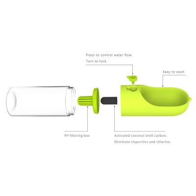 PETKIT Eversweet Travel Water Drink Bottle Green For Dogs And Cats