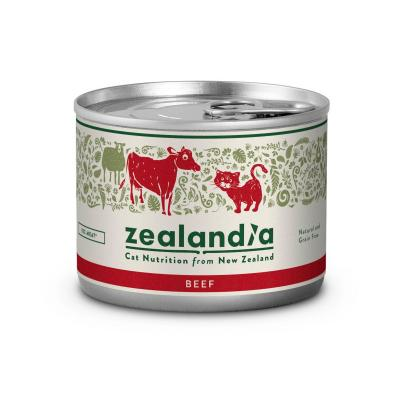Zealandia Grain Free Beef Adult Wet Canned Cat Food 170g x 24