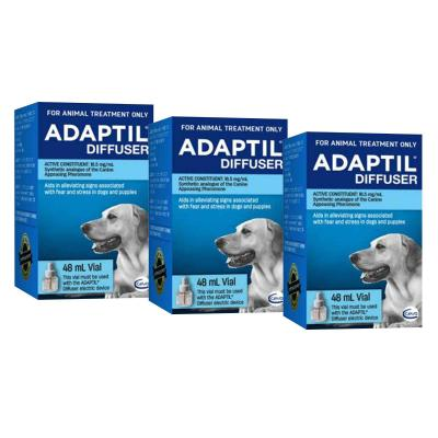 Adaptil For Dogs Appeasing Pheromone - Refill 48ml x 3