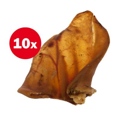 Petz Tucker Australian Pig Ears Treat For Dogs x 10