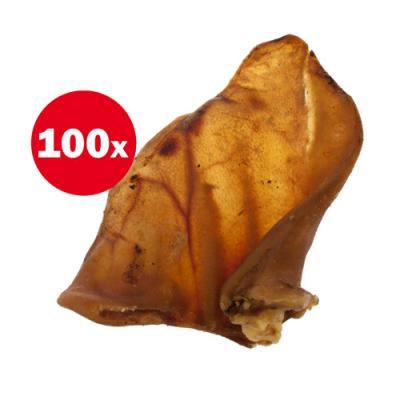 Petz Tucker Australian Pig Ears Treat For Dogs x 100