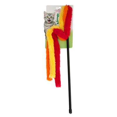 Trouble & Trix Bliss Towel Wand Teaser Catnip Toy For Cats 45cm
