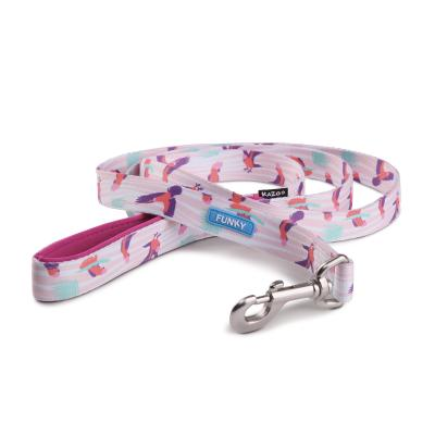 Kazoo Funky Nylon Lead Galahs 1200 x 25mm For Dogs