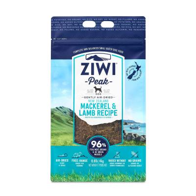 Ziwi Peak Grain Free Mackerel And Lamb Puppy And Adult Air Dried Meat Dog Food 4kg