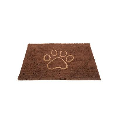 DGS Dirty Dog Mat Mocha Brown Large For Dogs