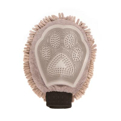 DGS Dirty Dog Grooming Mitt Grey For Dogs