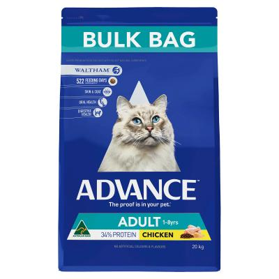 Advance Chicken Adult 1-8yrs Dry Cat Food 20kg