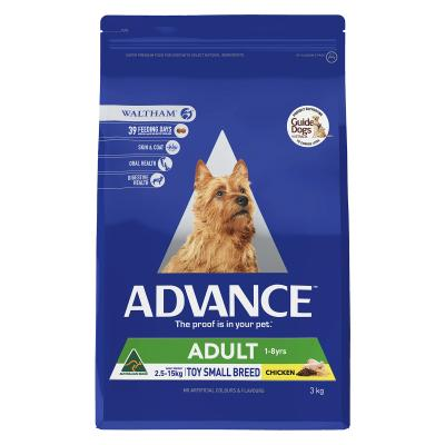 Advance Toy/Small Breed Chicken Adult Dry Dog Food 3kg