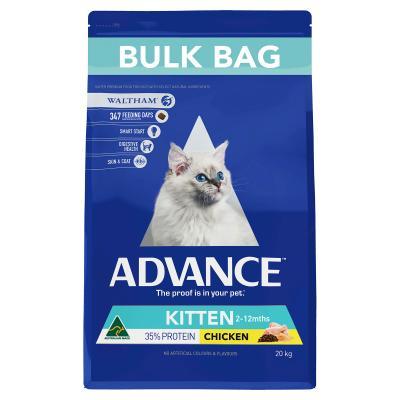 Advance Chicken Kitten 2-12 Months Dry Cat Food 20kg