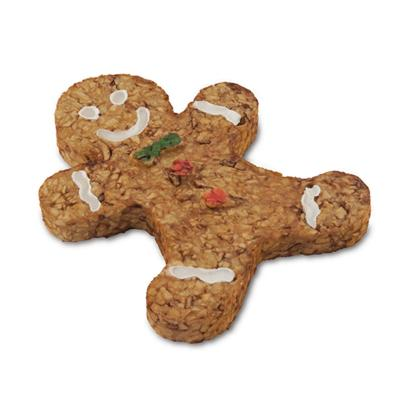 Dingo Christmas Gingerbread Man Munchy Chew With Chicken Treat For Dogs 2 Pack 140gm