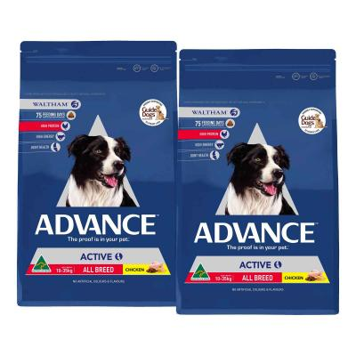 Advance Active All Breed Chicken Adult Dry Dog Food 26kg