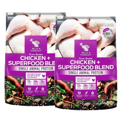 Billy + Margot Farm Raised Chicken + Superfood Blend Adult Dry Dog Food 18kg