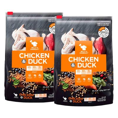 Billy + Margot Chicken And Duck Adult Dry Dog Food 24kg