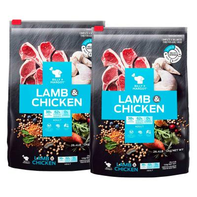 Billy + Margot Lamb And Chicken Adult Dry Dog Food 24kg