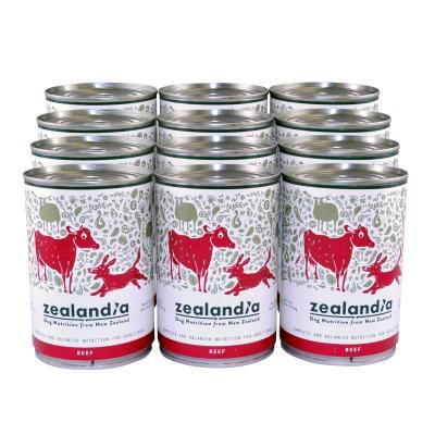 Zealandia Grain Free Beef Adult Wet Canned Dog Food 370g x 12