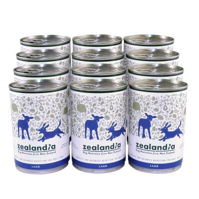 Zealandia Grain Free Lamb Adult Wet Canned Dog Food 370g x 12
