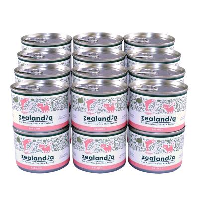 Zealandia Grain Free Salmon Adult Wet Canned Cat Food 170g x 24