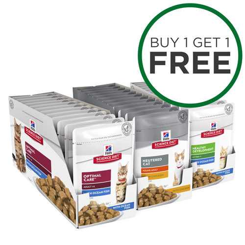 Starter Saver Hills Science Diet Pouches