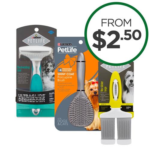Petlife Grooming Range