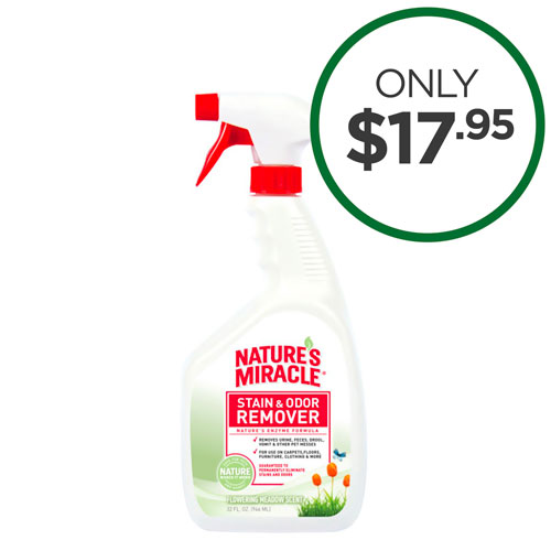Natures Miracle Stain & Odour Remover