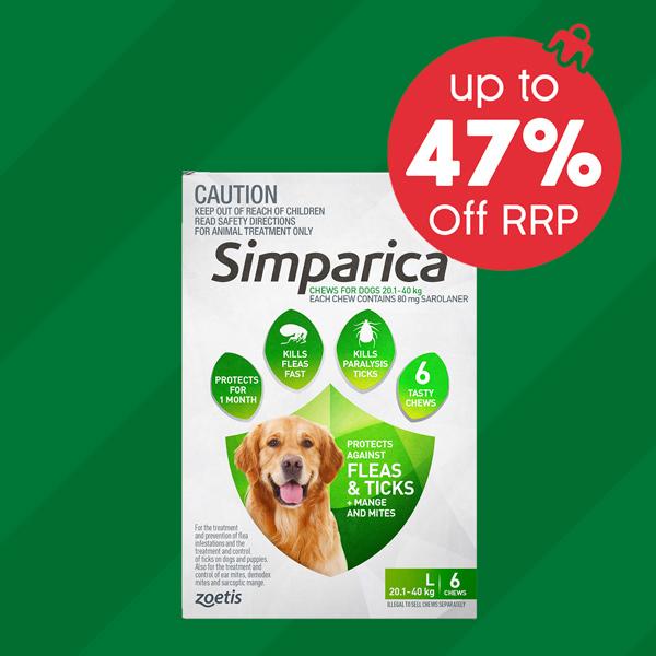 Simparica Up To 43% Off RRP