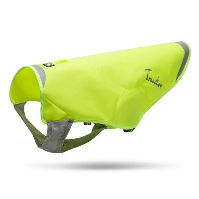 True Love High Visibility Safety Coat Jacket Neon Yellow Medium For Dogs