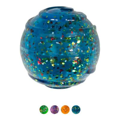 KONG Squeezz Confetti Ball Assorted Colour Medium Squeak Bounce And Fetch Toy For Dogs