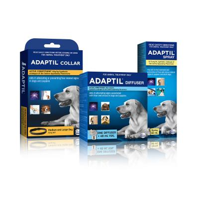 Adaptil Complete Care For Medium And Large Dogs Diffuser Set And Spray With Collar 70cm Fits Necks Up To 62.5cm