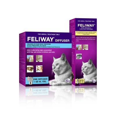 Feliway Home And Travel Diffuser Set With Feliway Spray For Kittens And Cats