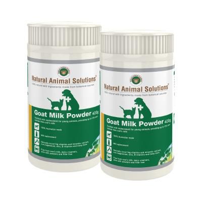 Natural Animal Solutions (NAS) Goat Milk Powder For Dogs And Cats 800gm (400gm x 2)