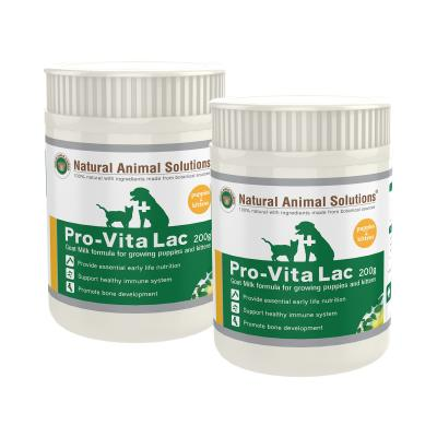 Natural Animal Solutions (NAS) Pro-Vita Lac For Dogs And Cats 400gm (2 x 200gm)
