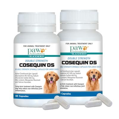 PAW By Blackmores Cosequin Ds For Large Dogs 120 Capsules (60 Capsules x 2)
