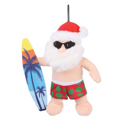 Kazoo Christmas Surfing Santa Large Toy For Dogs