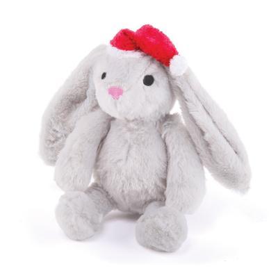 Kazoo Christmas Plush Bunny Medium Toy For Dogs