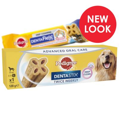 Pedigree Dentastix Twice Weekly DentaFlex Large Single Dental Treat For Dogs