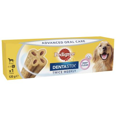 Pedigree Dentastix Twice Weekly Oral Care Large Single Dental Treat For Dogs