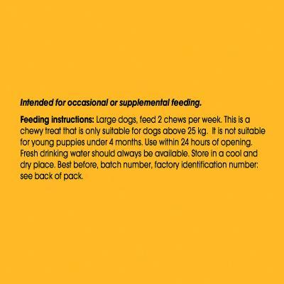 Pedigree Dentastix Twice Weekly DentaFlex Large Single Dental Treat For Dogs