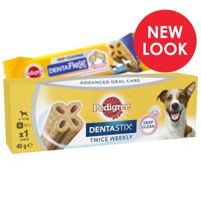 Pedigree Dentastix Twice Weekly DentaFlex Small Single Dental Treat For Dogs