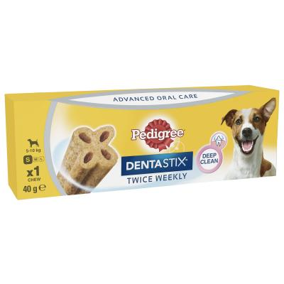 Pedigree Dentastix Twice Weekly Oral Care Small Single Dental Treat For Dogs