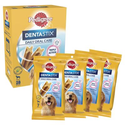 Pedigree Dentastix Value Pack of 28 Sticks For Large Dogs