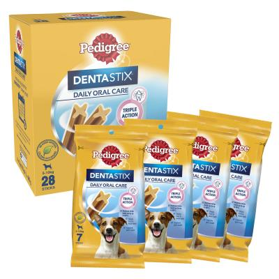 Pedigree Dentastix Daily Oral Care Dental Stick Small Value 28 Pack Treat For Dogs 440g
