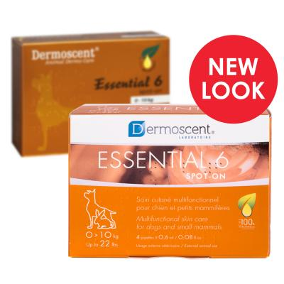 Dermoscent Essential 6 Spot on Skin Care For Small Dogs 0-10kg
