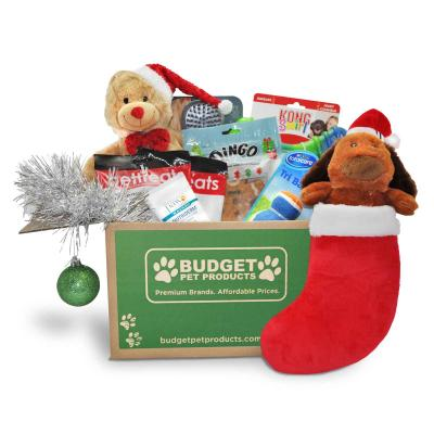 Christmas Budget Box Toys And Treats For Medium To Large Dogs