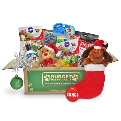 Christmas Budget Box Toys And Treats For Small To Medium Dogs
