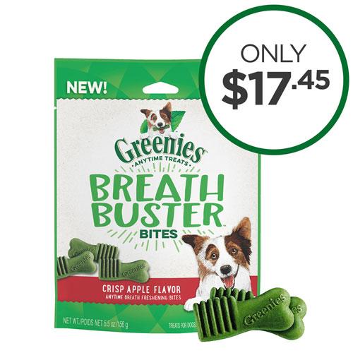 Greenies Breath Buster