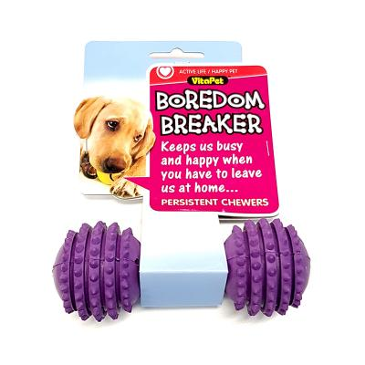 Vitapet Boredom Breaker Dumbbell Toy For Dogs