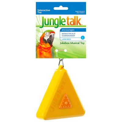 Jungle Talk Musical Jukebox Large Toy For Birds